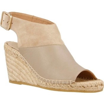 Chaussures Femme Espadrilles Equitare JONES26 Brun
