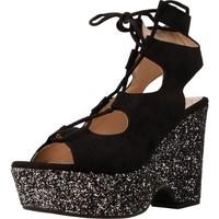 Chaussures Femme Sandales et Nu-pieds Angel Alarcon 16625A Noir
