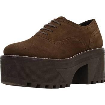 Chaussures Femme Derbies Alpe 3505 11 Marron