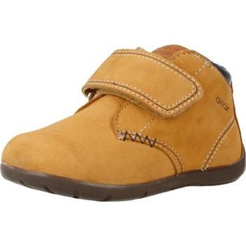 Chaussures Garçon Boots Geox B KAYTAN Brun