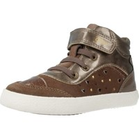 Chaussures Fille Baskets montantes Geox B KILWI GIRL Marron