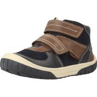Chaussures Garçon Baskets montantes Geox B OMAR BOY Bleu