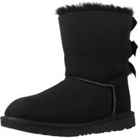 Chaussures Fille Bottes de neige UGG BAILEY BOW II Noir