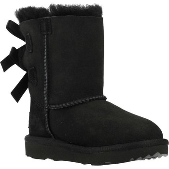 Chaussures Fille Bottes de neige UGG BAILEY BOW II Noir