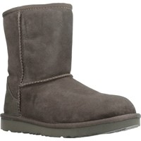 Chaussures Fille Bottes de neige UGG CLASSIC II Gris