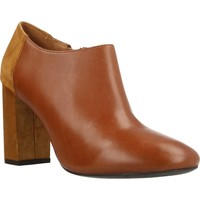 Chaussures Femme Low boots Geox D AUDALIES HIGH Marron