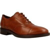 Chaussures Femme Derbies Geox DONNA BROGUE Brun