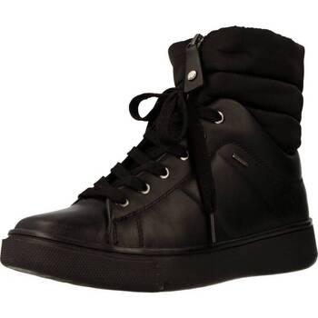 08291dabc34782 Chaussures Femme Baskets montantes Geox D MAYRAH B ABX Noir