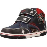Chaussures Garçon Baskets montantes Geox B FLICK BOY Bleu