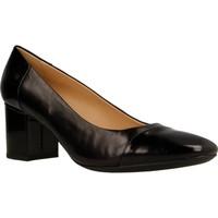 Chaussures Femme Escarpins Geox D NEW SYMPHONY MID Noir