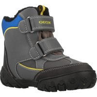 Chaussures Garçon Bottes de neige Geox B GULP B BOY ABX Gris