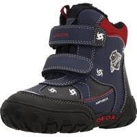 Chaussures Garçon Bottes de neige Geox B GULP B BOY ABX Bleu