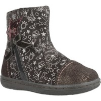 Chaussures Fille Boots Geox B FLICK GIRL Gris