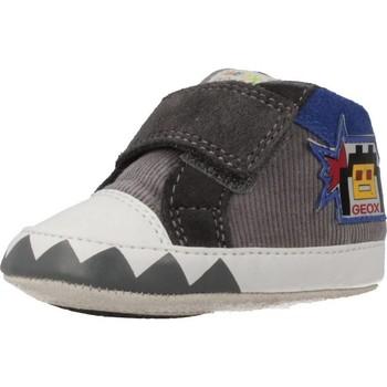 Chaussures Garçon Baskets montantes Geox B IAN Gris
