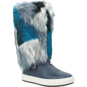 Chaussures Femme Bottes ville Geox D BREEDA Bleu