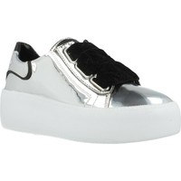 Chaussures Femme Baskets basses Just Another Copy JACPOP001 Argent