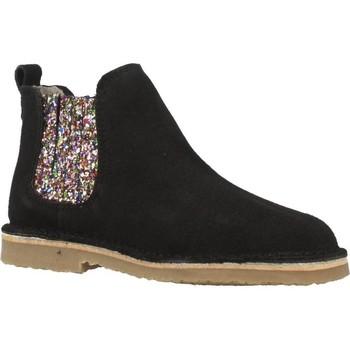 Chaussures Fille Bottines B-Run 301B Noir