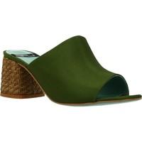 Chaussures Femme Mules Lab 18254 431 Vert