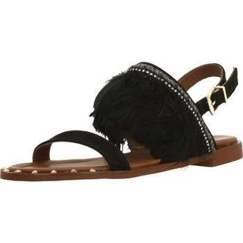 Chaussures Femme Sandales et Nu-pieds Alpe 3744 12 Noir