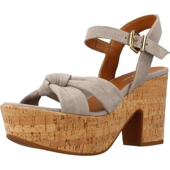 Chaussures Femme Sandales et Nu-pieds Alpe 3763 12 Gris