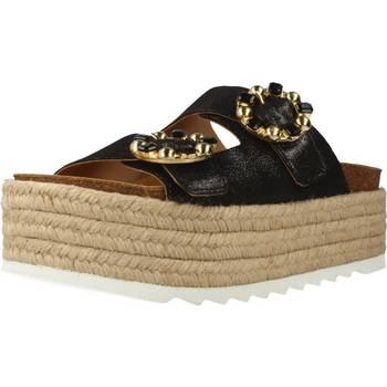 Chaussures Femme Espadrilles Alpe 3780 50 Noir