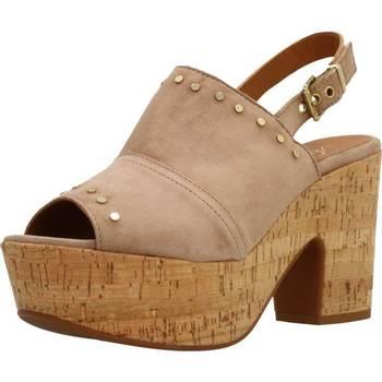 Chaussures Femme Sandales et Nu-pieds Alpe 3767 12 Brun