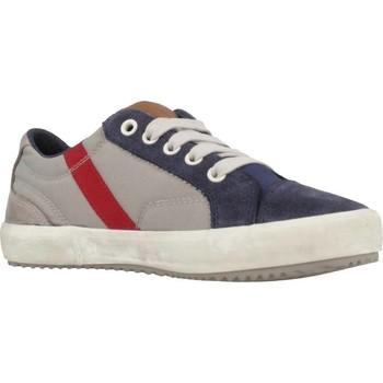Chaussures Garçon Baskets basses Geox J ALONISSO BOY Gris