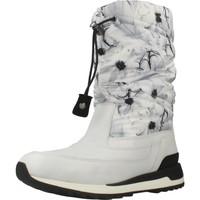 Chaussures Femme Bottes de neige Geox D ANEKO B ABX Blanc
