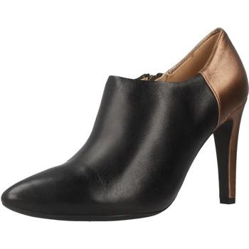 Chaussures Femme Low boots Geox D CAROLINE Noir