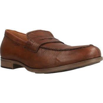 Chaussures Homme Mocassins Geox U BESMINGTON Marron