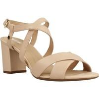 Chaussures Femme Sandales et Nu-pieds Geox D NESA Brun