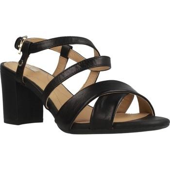 Chaussures Femme Sandales et Nu-pieds Geox D NESA Noir