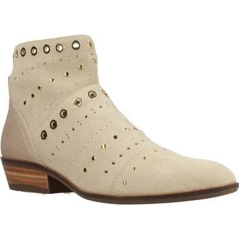 Chaussures Femme Bottines Geox D KENNITY Beige