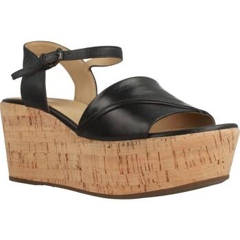 Chaussures Femme Sandales et Nu-pieds Geox D SAKELY Noir