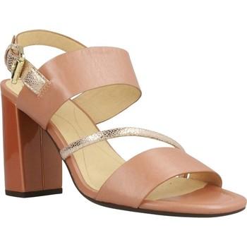 Chaussures Femme Sandales et Nu-pieds Geox D AUDALIES HIGH SAND Rose