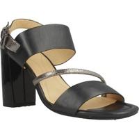 Chaussures Femme Sandales et Nu-pieds Geox D AUDALIES HIGH SAND Noir