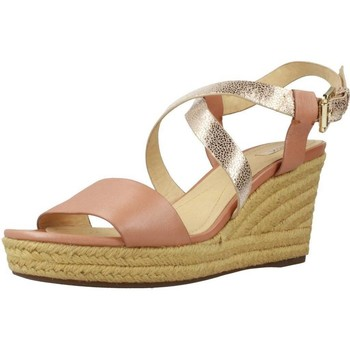 Chaussures Femme Espadrilles Geox D SOLEIL Brun