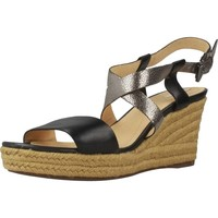 Chaussures Femme Espadrilles Geox D SOLEIL Noir