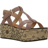 Chaussures Femme Sandales et Nu-pieds Elvio Zanon H0804P Marron