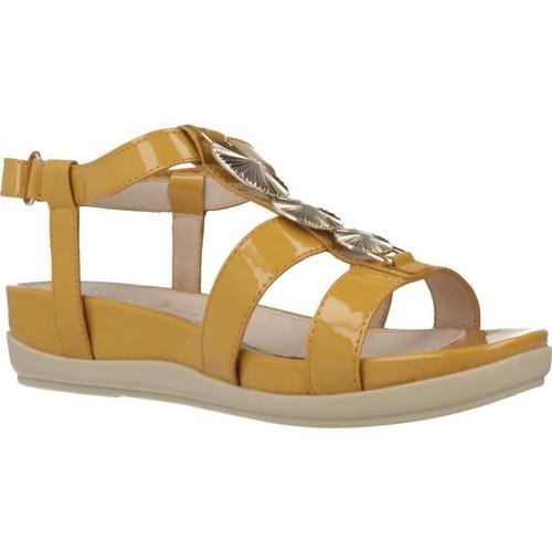 Stonefly 110300 Jaune - Chaussures Sandale Femme 5295