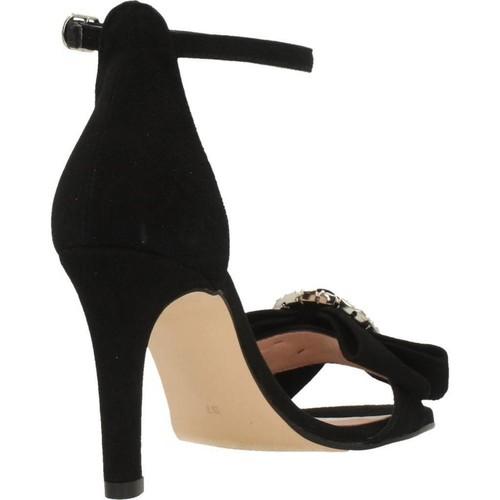 14254J Joni sandales et nu-pieds femme noir