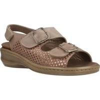 Chaussures Femme Sandales et Nu-pieds Mateo Miquel 3297M Brun