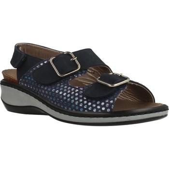 Chaussures Femme Sandales et Nu-pieds Mateo Miquel 3297M Bleu