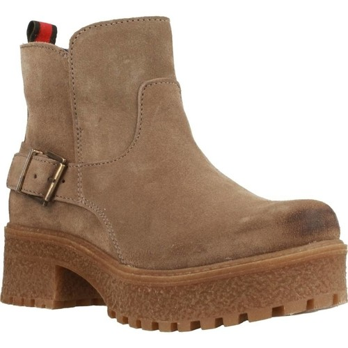 Chaussures Femme Boots Oii! 5009O Brun