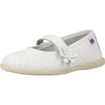 Chaussures Fille Derbies & Richelieu Conguitos IVS10255 Blanc