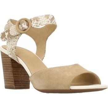 Chaussures Femme Sandales et Nu-pieds Geox D EUDORA Brun