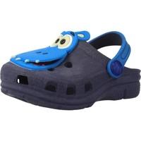 Chaussures Garçon Sabots Plugt BABUCHE BABY NEON PAPA T Bleu