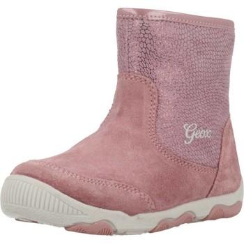 Chaussures Fille Bottines Geox B NEW BALU G.D Rose