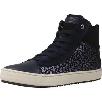 Chaussures Fille Baskets montantes Geox J KALISPERA G.D Bleu