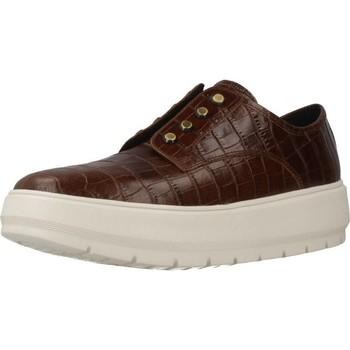 Chaussures Femme Slip ons Geox D KAULA C Marron